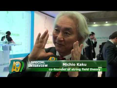 Special A9 TV interview with Prof. Michio Kaku 1