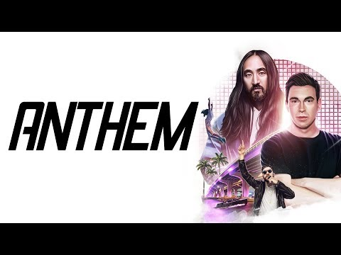Hardwell & Steve Aoki feat. Kris Kiss - Anthem (Visual Lyric Video)