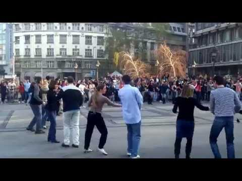 International Rueda de Casino Flash Mob - Belgrade, Serbia 2014
