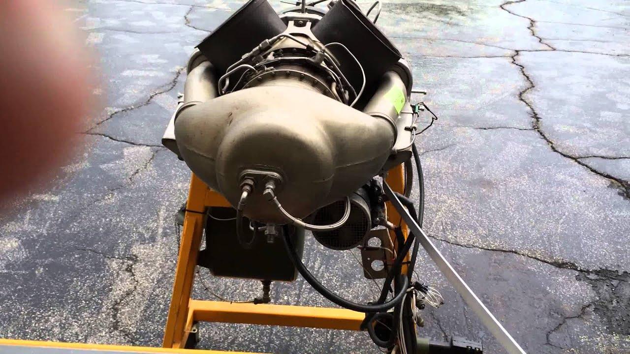 Allison Turbine Engine Test