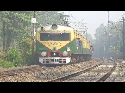 Shatabdi +Tebhaga +Rajdhani +JanShatabdi || Back to Back LHB & ICF Trains Eastern Railways from YouTube · Duration:  5 minutes 48 seconds