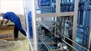Tam Otomatik Şalgam Suyu Dolum Makinası ve Etiketleme Makinası