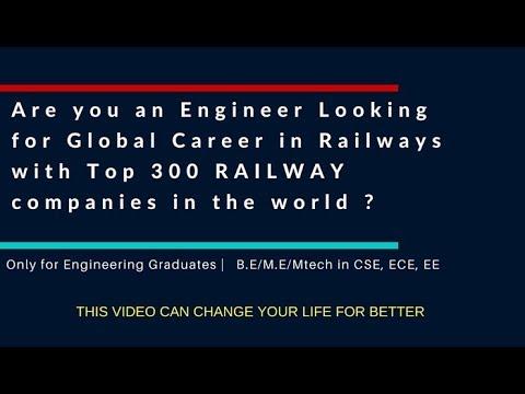 Global Career in Railway Signaling for Engineers