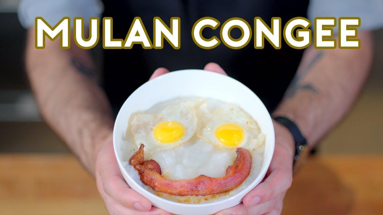 Binging with Babish: Congee from Mulan