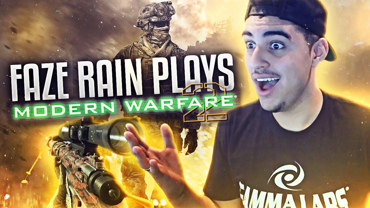 FaZe Rain Plays Modern Warfare 2! - YouTube
