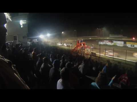 Albany Saratoga Speedway Limited Sortsman Rollover