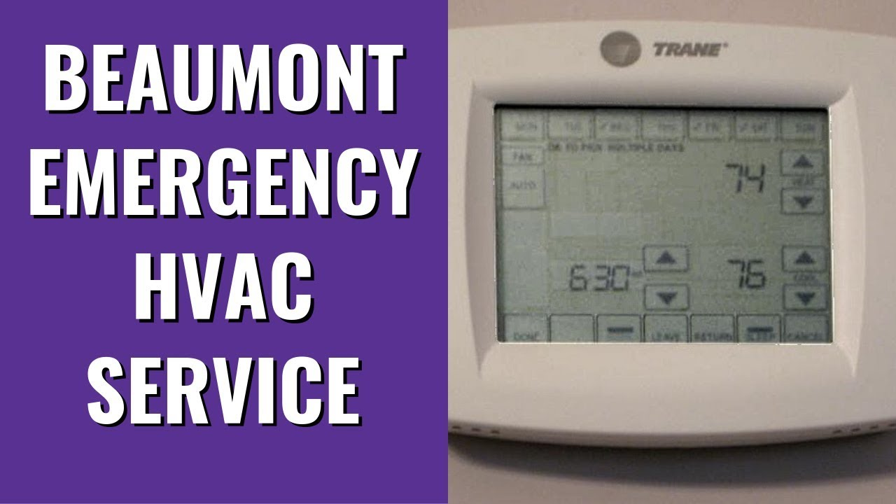 The smart Trick of Emergency Ac Repair Beaumont That Nobody is Talking About