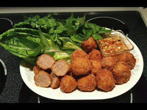 Deep Fried Asian Meatballs