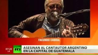 Facundo Cabral: asesinado a tiros en Guatemala el legendario cantautor argentino