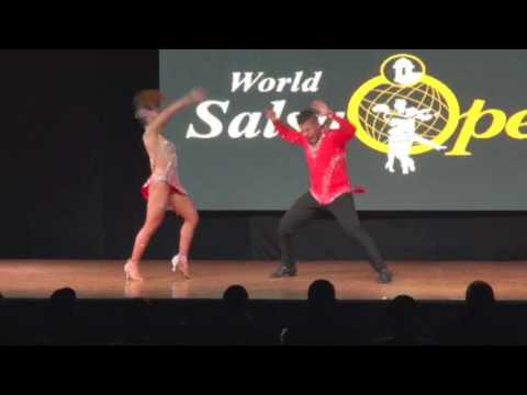 Muriel & David Campeones Mundiales - World Salsa Open 2017 / Improvisación