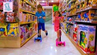 VLOG Выбираем крутой самокат распаковываем и катаемся Buying scooter