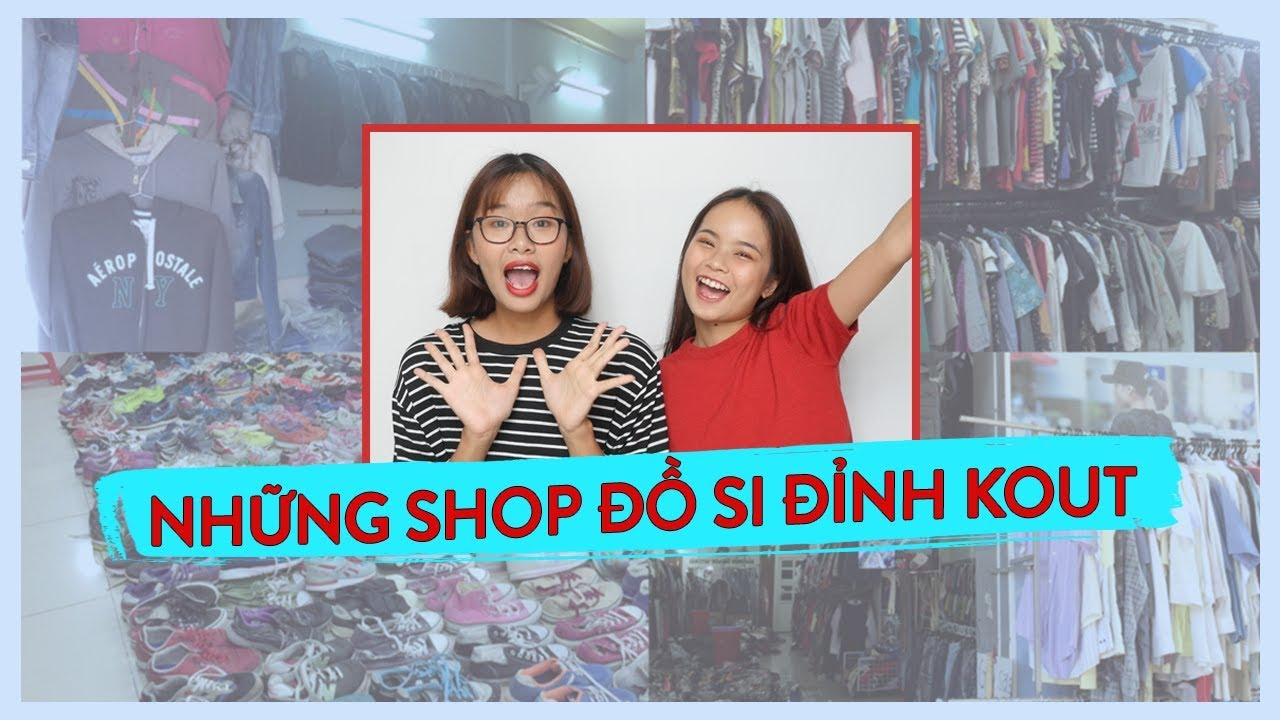 TỤI MÌNH MUA ĐỒ 2ND-HAND Ở ĐÂU? – Thrift Shops in Sai Gon | WE ARE TEGO
