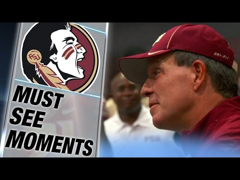 Jimbo Fisher's Emotional Postgame Speech After FSU Win Over Clemson | ACC Must See Moment