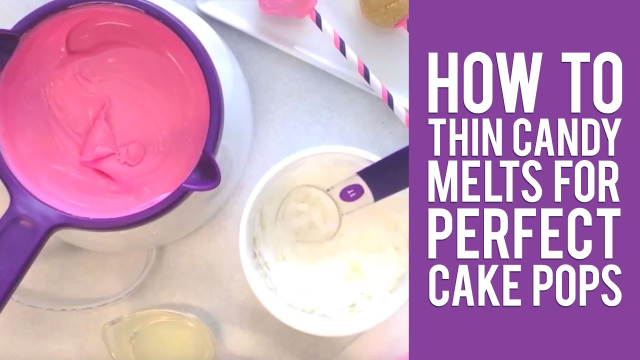 Decorating Cake Pops With Candy Melts