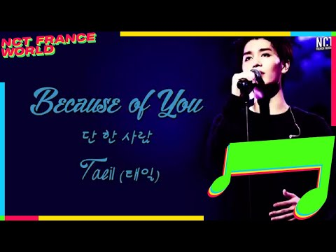 [VOSTFR] Taeil (태일) [NCT/SMROOKIES] - Because of You (단 한 사람)  [THE MERCHANT : GAEKJU 2015] OST