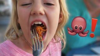 She Eats a Squid