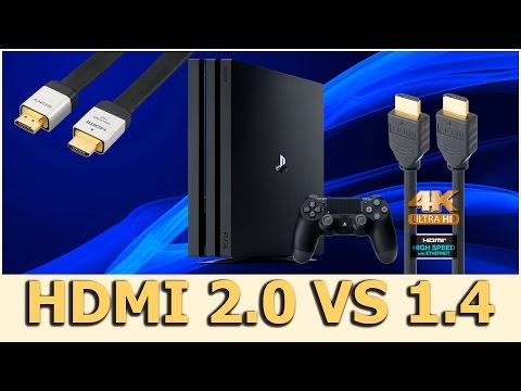 HDMI 2.0 Vs HDMI 1.4 No PS4 Pro - CdC E44