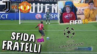 JUVENTUS vs MANCHESTER UNITED - CHAMPIONS LEAGUE! - Fifa 19