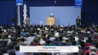 Friday Sermon 18 October 2019 (English): Men of Excellence