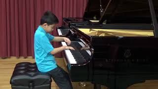 Aaron Xu - The cat and the mouse by Aaron copland (Qian Yoyo Liu Piano Studio )