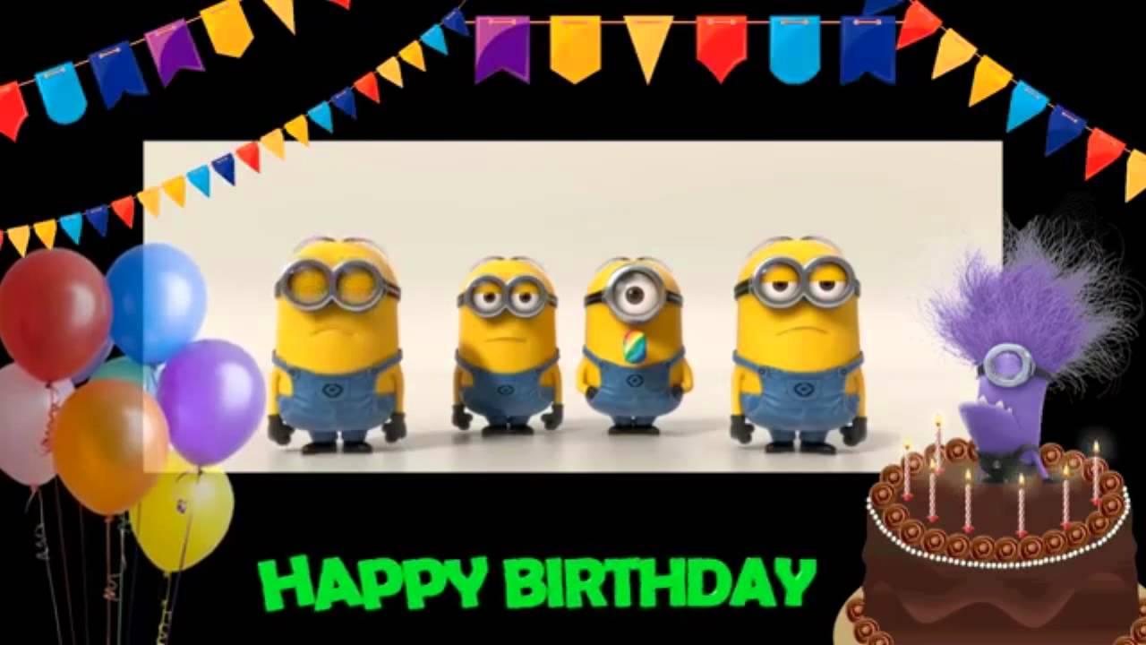 Minions Happy Birthday Salsa Style