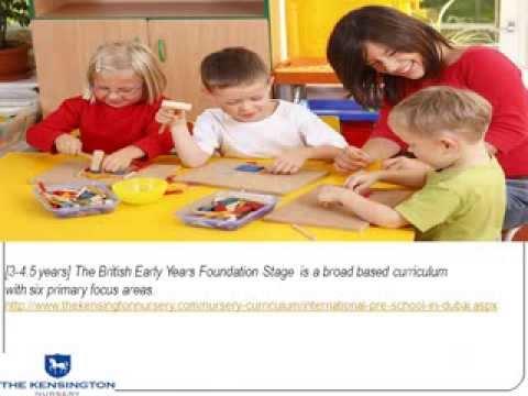 International pre schools Dubai