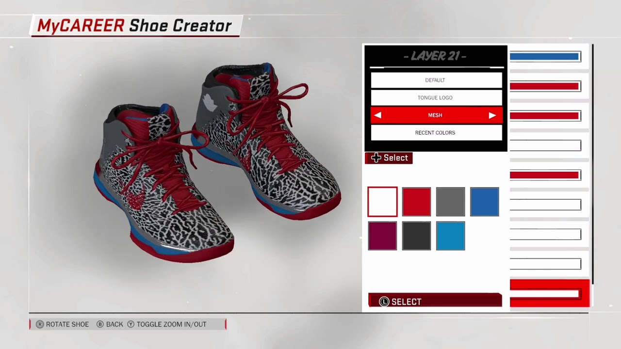 OMG 2k Jordan custom colorways NBA2k18