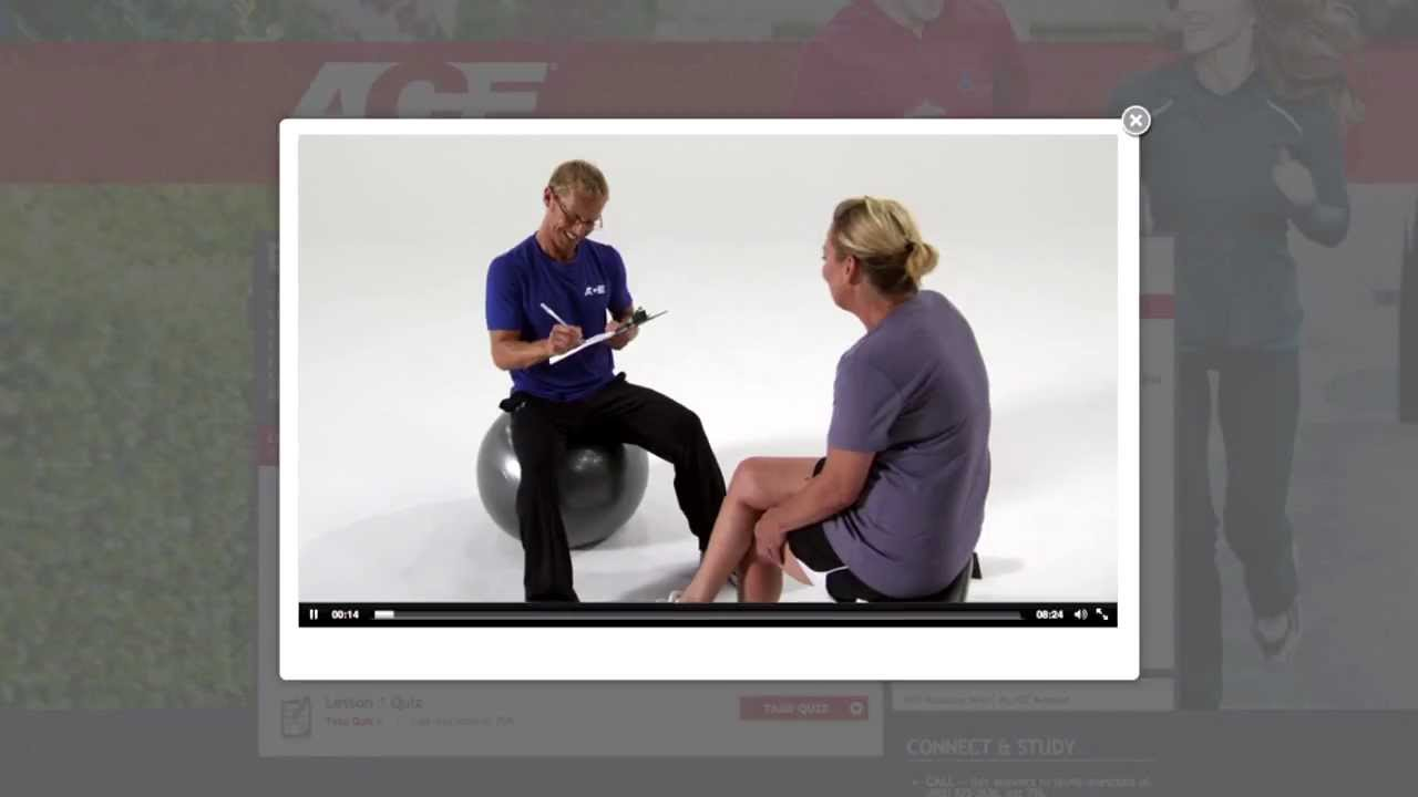 Ace personal trainer certification youtube ace personal trainer certification xflitez Images