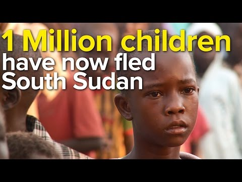 1 Million children have now fled South Sudan