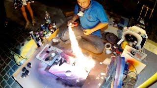 ЭТО НЕМАГИЯ! Уличный художник творит невероятные вещи! Лайфхак для школы - 10 ЕВРО за 10 минут!!