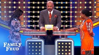 A lonely plumber does this with his plunger! | Family Feud