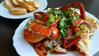How to make Tamarind Crab - Cua Rang Me