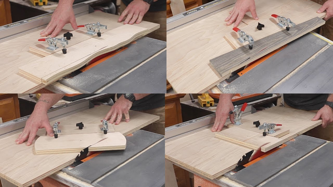 A Table Saw Tapering Jig That Does It All / Free Plans