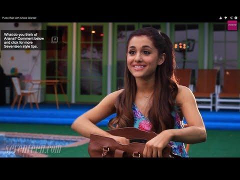 Ariana Grande - What's in my purse?