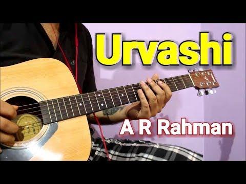Urvashi Urvashi Intro & Guitar Tabs | A.R Rahman
