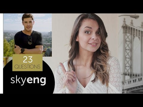 73 ВОПРОСА VOGUE на английском: Селена Гомес, Зак Эфрон, Эмма Стоун || Skyeng