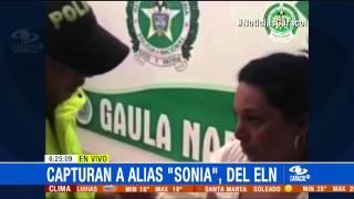 Alias 'Sonia', cabecilla del ELN, fue detenida en Nariño - 8 de Abril de 2015