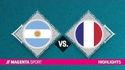 Argentinien - Frankreich | Halbfinale, FIBA-WM | MAGENTA SPORT