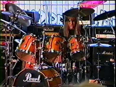 Guitar Center Drum-off 1989, Santa Ana, CA - Rob Swindell