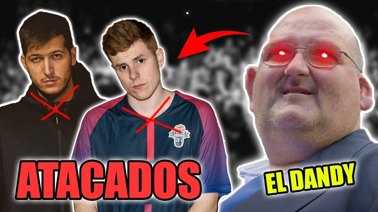 CHUTY Y BTA ATACADOS POR EL DANDY DE BARCELONA
