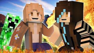 Minecraft pero juego con MI MAMÁ