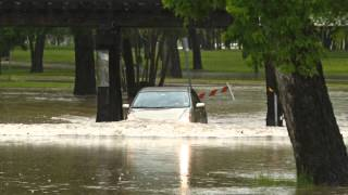 Spring Storms Bring Flash Flooding To Fort Worth Texas