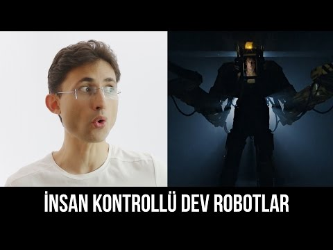İnsan Kontrollü Dev Robotlar