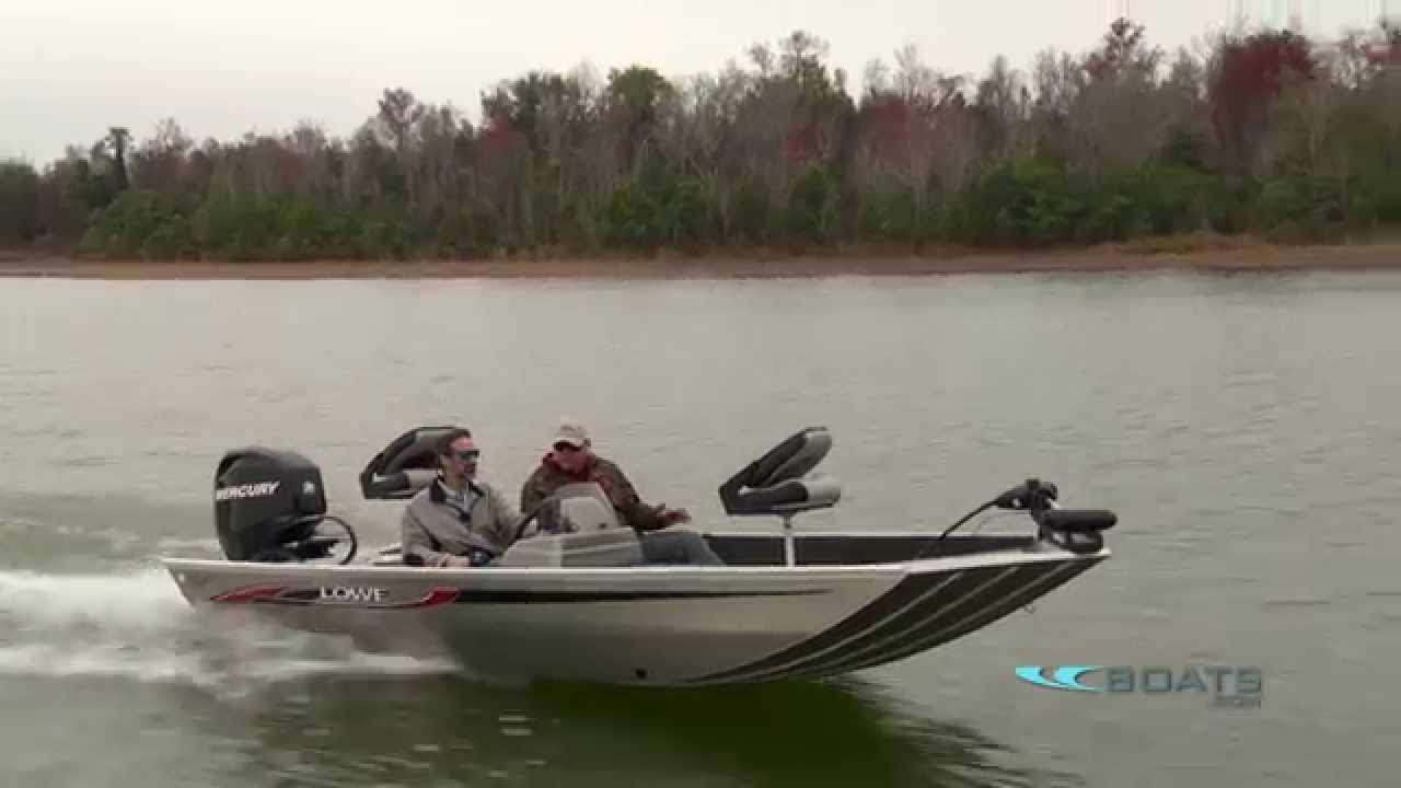 Lowe Stryker Aluminum Fishing Boat Review Performance