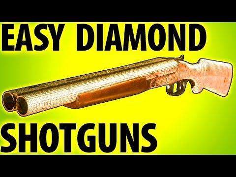 EASY DIAMOND CAMO SHOTGUNS - COD WW2 TIPS