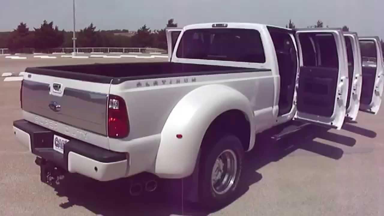 6 Door Truck For Sale >> Platinum Six Door F450 Super Truck CABT - YouTube