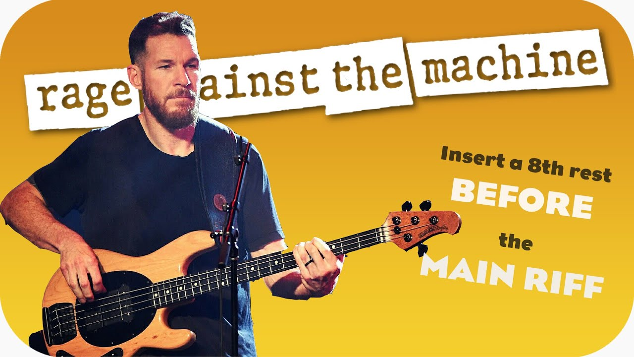 How to sound like Tim Commerford of Rage Against The Machine - Bass Habits - Ep 25