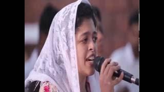 Asha Job singing Ho Teri Stuthi (in Hindi & Malayalam)