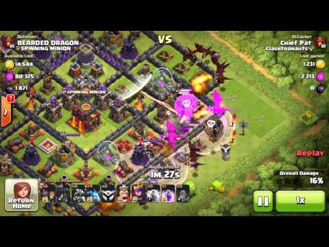 Clash of Clans - Mass Dragons = OP?