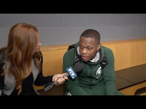 Cassius Winston Talks Game vs. Duke